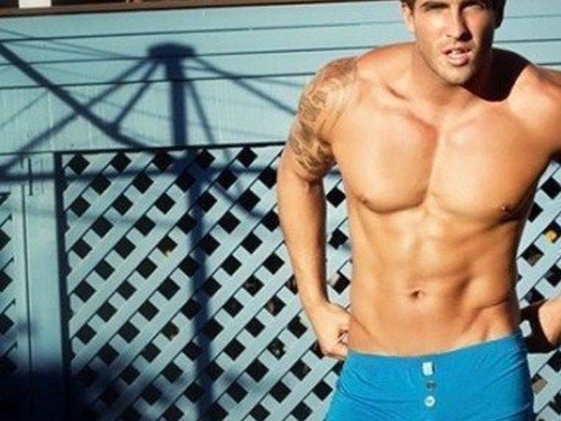 Мужские шорты синие Aussiebum Freedom Shorts Blue