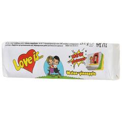 Жевательные конфеты Love Is - новые вкладыши, любимые вкусы (дыня-ананас)