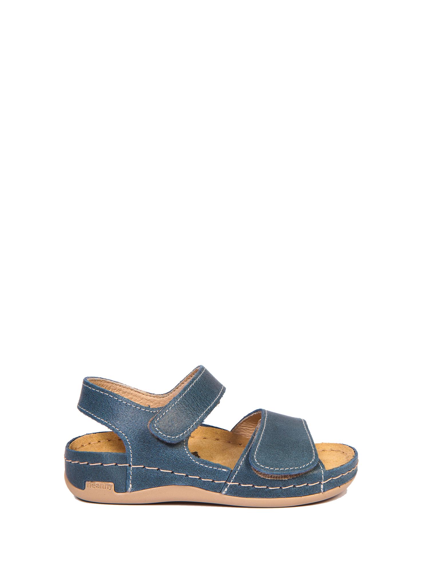 Детские сандалии, модель 802B (темно-синие)