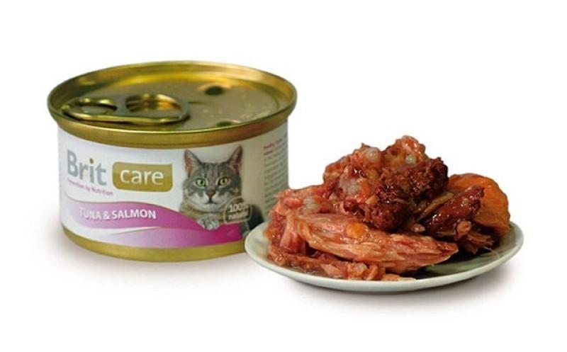 Brit Care Консервы для кошек, Brit Care, с тунцом с лососем Консервы_для_кошек_Brit_Care_тунец_с_лососем.jpg