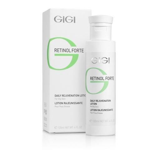 Gigi Retinol Forte Daily Rejuvenation Lotion for oily skin, Лосьон-пилинг для жирной кожи, 120 мл.