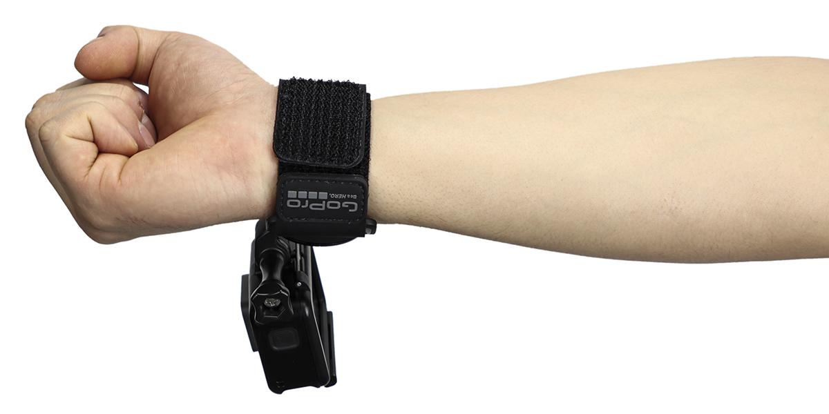Крепление на руку GoPro Hand + Wrist Strap (AHWBM-002) на запястье вид снизу