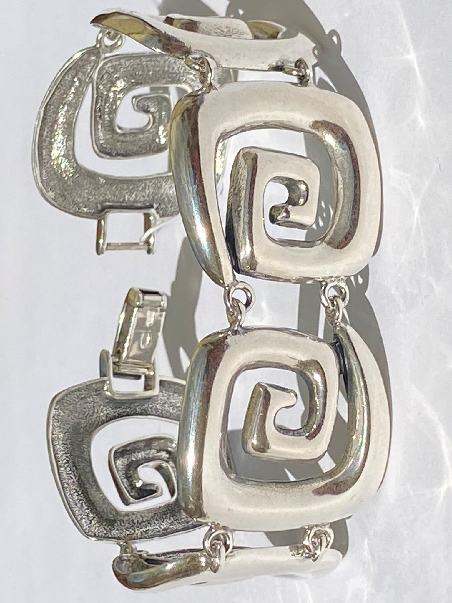Мобиле (серебряный браслет)