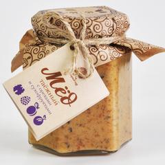 Мёд Таёжный с орехами и сухофруктами Сибирский Кедр 220 г