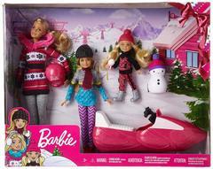 Барби Сестры на зимнем воздухе Barbie