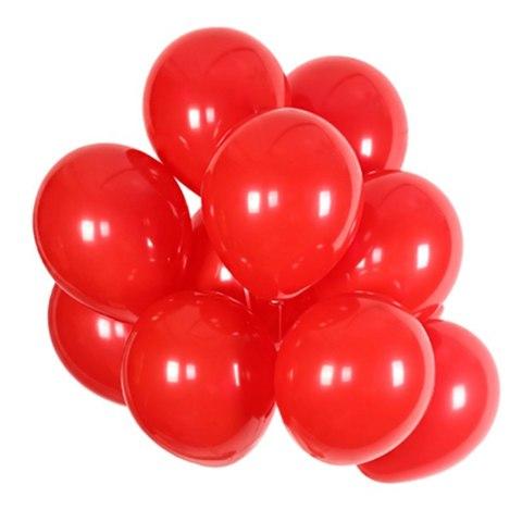 Воздушные шары с гелием красные