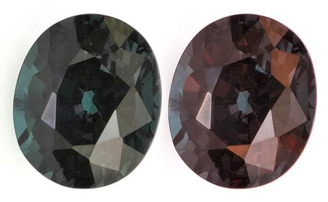 Гранат со сменой цвета