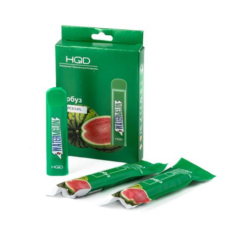 Одноразовая электронная сигарета HQD Cuvie Watermelon (Арбуз) 1 шт