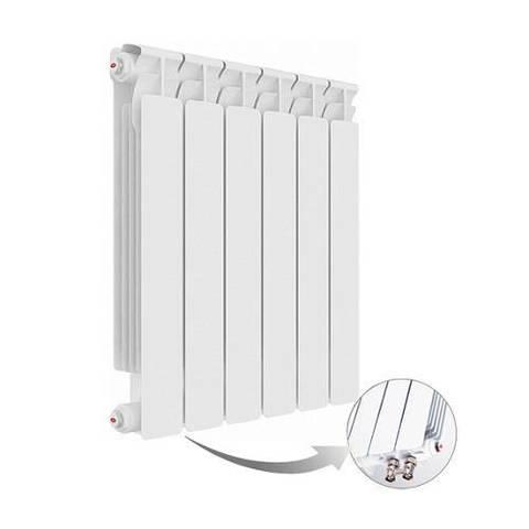 Радиатор биметаллический секционный Rifar Alp Ventil 500 - 12 секций (подключение нижнее левое)