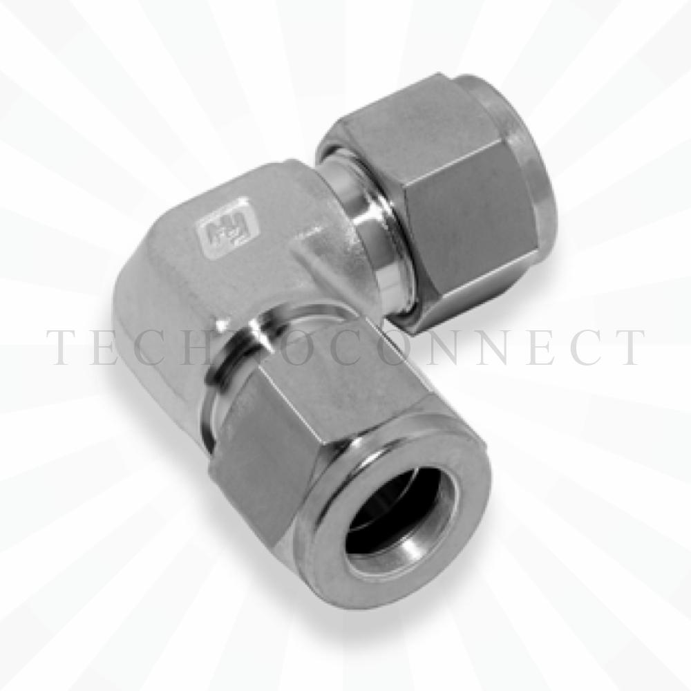 CLA-6M  Соединитель угловой: метрическая трубка  6 мм - метрическая трубка   6 мм