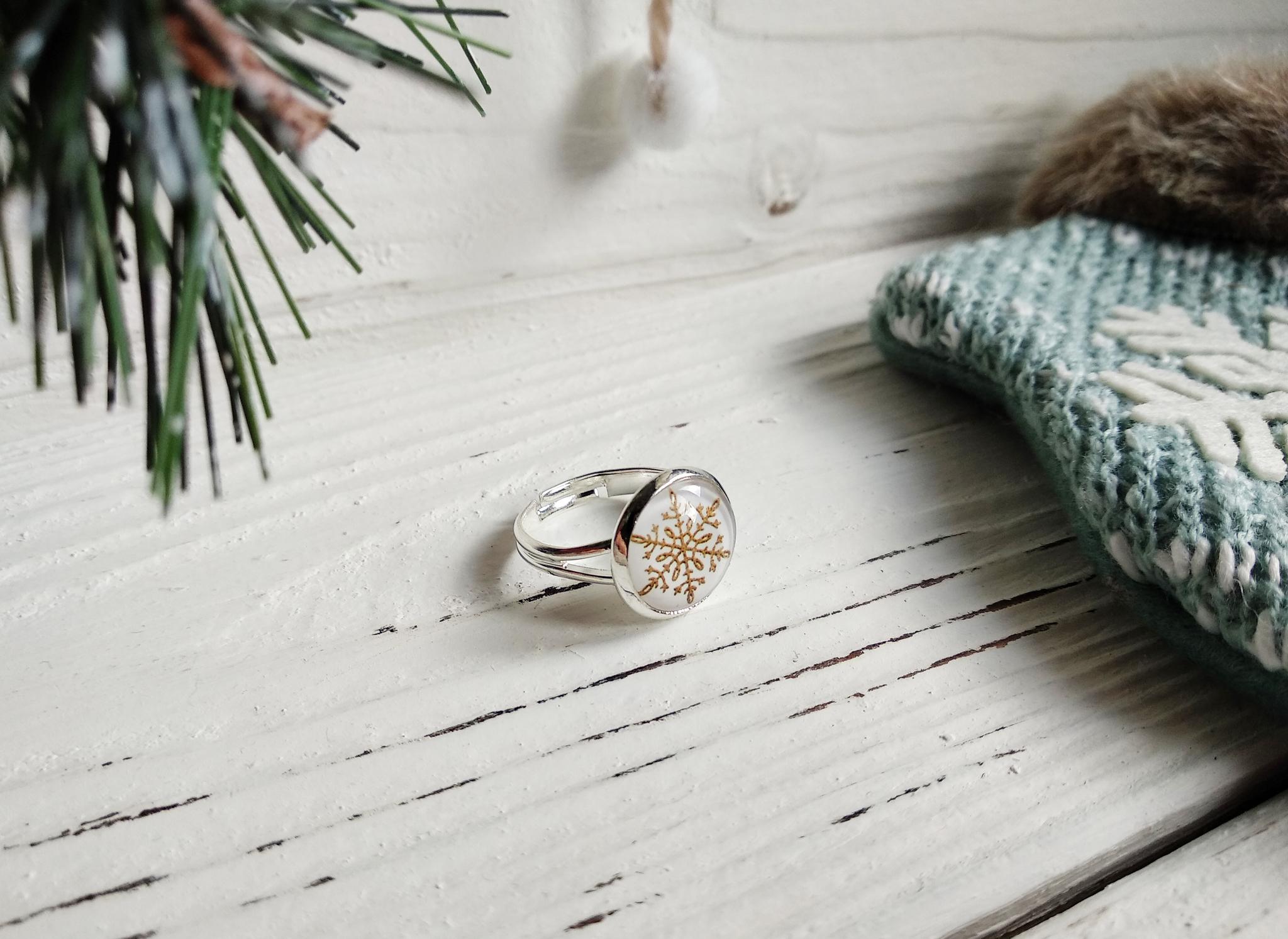 Кольцо новогоднее