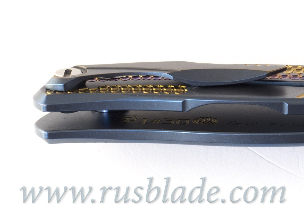 Shirogorov CUSTOM Flipper 95 Firedrake project s30v