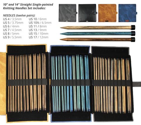 Набор прямых спиц LYKKE 25 см