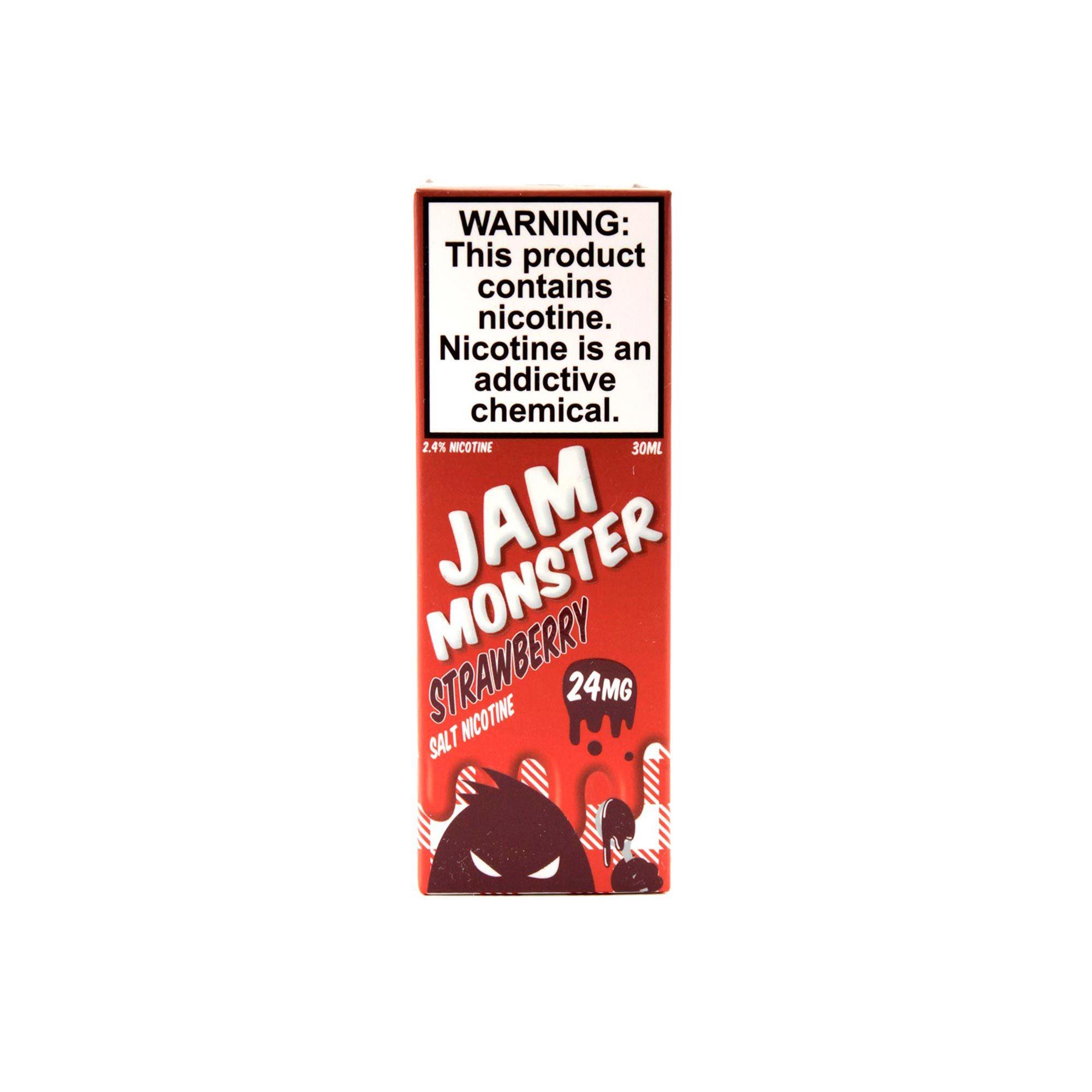 Жидкость Jam Monster Salt Strawberry