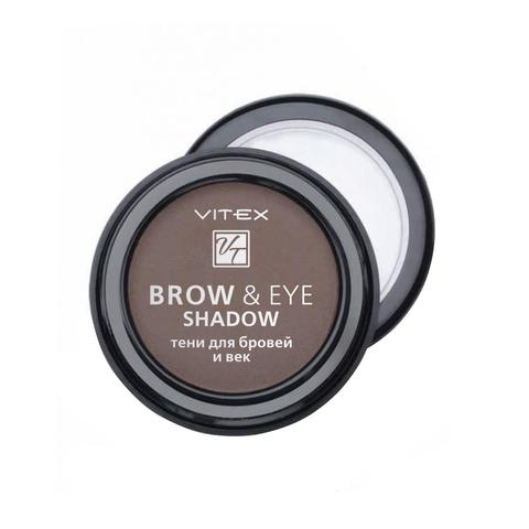 Витэкс Brow&Eye Shadow Тени для бровей и век тон 13 Medium brown