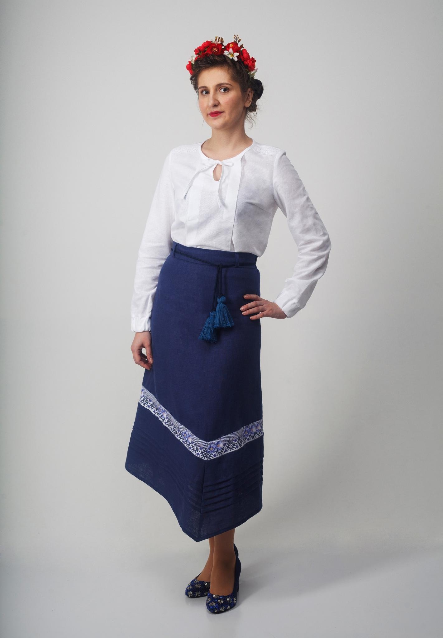 Блуза Самоцветы Хрусталь с Юбкой клином