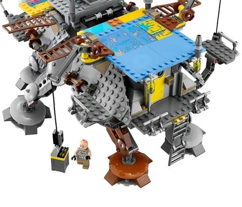 LEGO Star Wars: Шагающий штурмовой вездеход AT-TE 75157 — Captain Rex's AT-TE — Лего Стар ворз Звёздные войны Эпизод