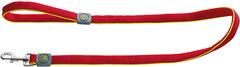 Поводок для собак, Hunter Maui 25/120, сетчатый текстиль красный