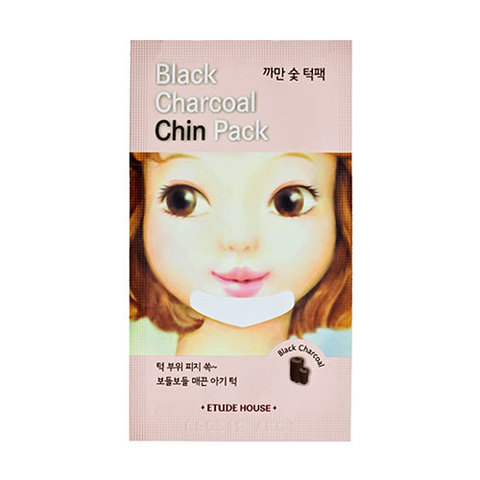 Black Charcoal Chin Pack Etude House