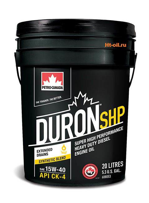 DURON SHP 15W-40 моторное масло для дизельных двигателей Petro-Canada (20 литров)