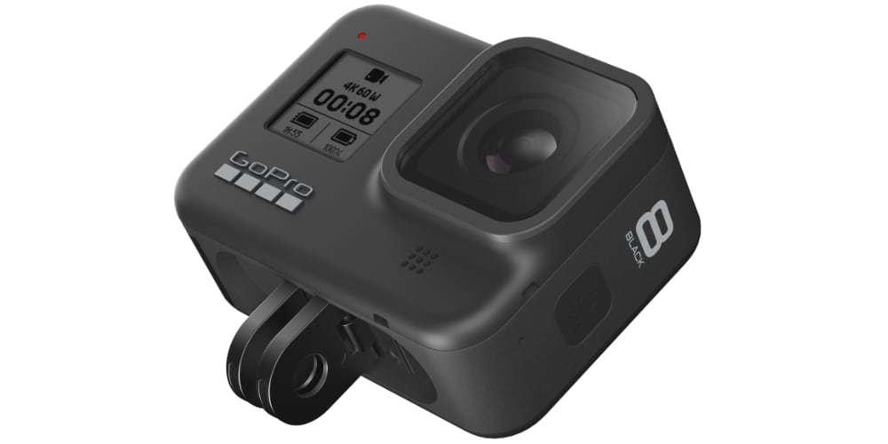 Экшн-камера GoPro HERO8 на платформе ушки