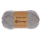 Пряжа Kartopu Melange Wool арт. 1009 серый