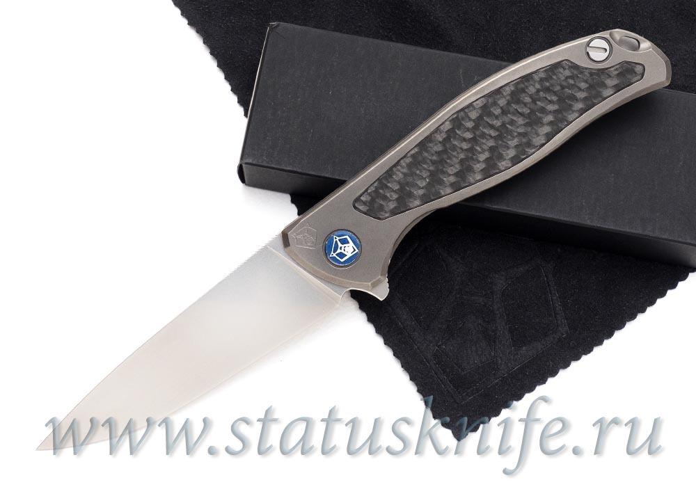 Нож Широгоров Флиппер 95 S30V накладка карбон