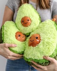 Плюшевая игрушка Авокадо 30 см
