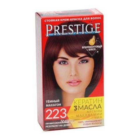 Краска для волос Prestige 223 - Темный махагон