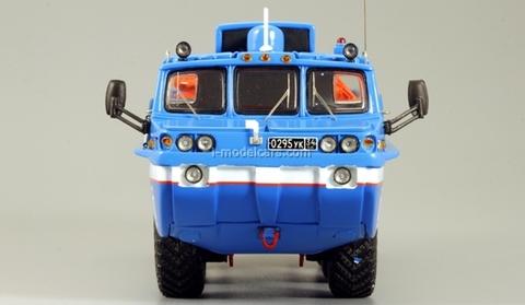 ZIL-49060 Blue Bird with crane DIP 1:43