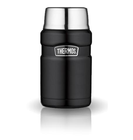Термос для еды Thermos King SK3020 (0,7 литра), черный