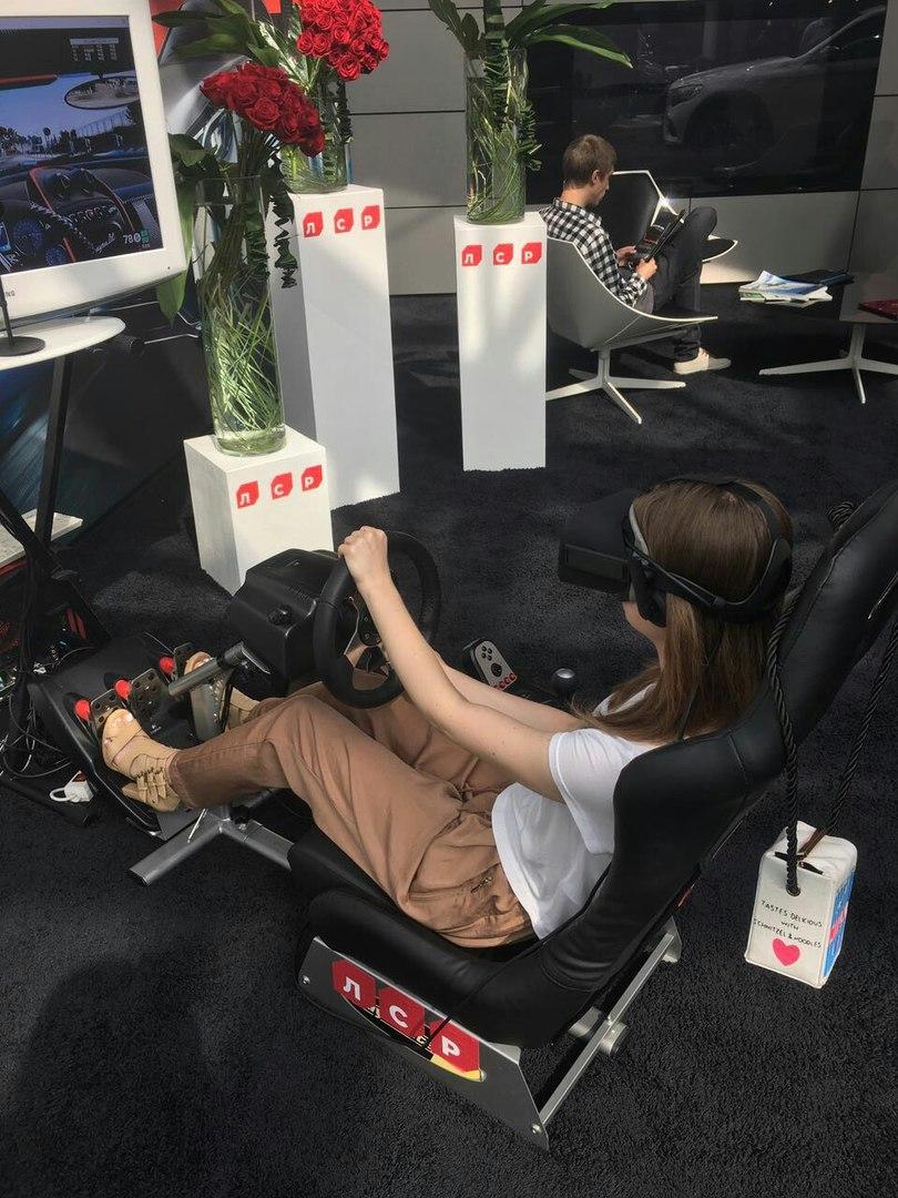 Аренда автосимулятора виртуальной реальности