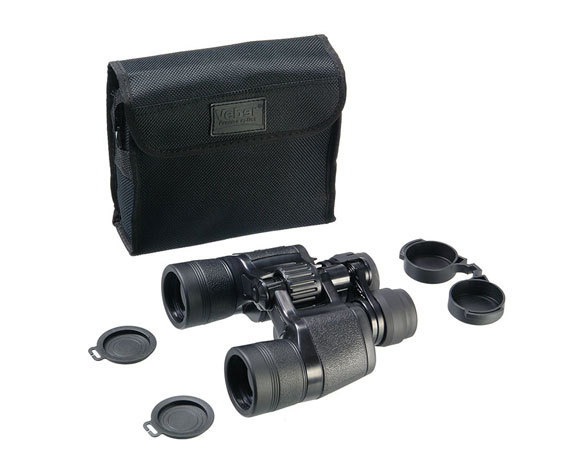 Комплект поставки бинокля Veber 8-18x40