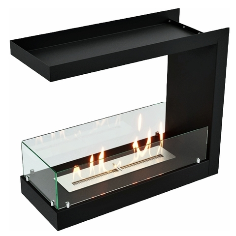 Торцевой биокамин Lux Fire 755 М