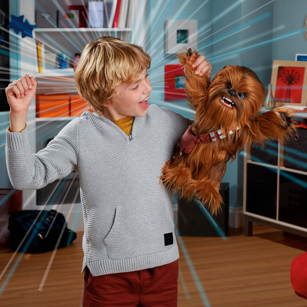 Звездные войны игрушка интерактивная Чубакка Fur Real