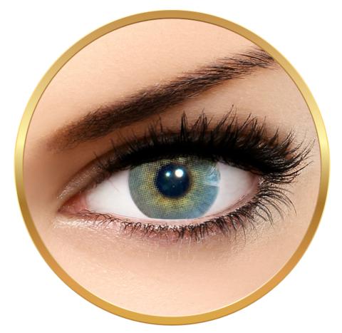 Серо-голубые линзы для глаз SOLÓTICA® HIDROCOR - QUARTZO