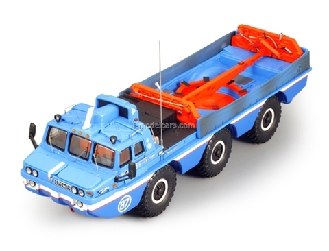 ZIL-49060 Blue Bird with crane DIP 1:43