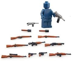 Оружие для минифигурок набор 02
