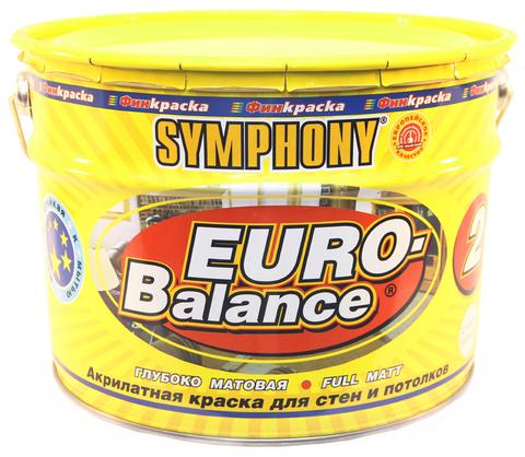 SYMPHONY EURO Balance 2 – акрилатная глубоко матовая краска СУПЕР-БЕЛАЯ