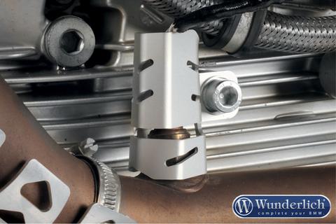 Защита кислородного датчика BMW R1200GS LC/GSA LC/R LC/RS LC левый Серебро