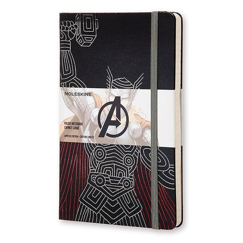 Блокнот Moleskine Limited Edition THE AVENGERS Мстители LEAVQP060TH Large 130х210мм 240стр. линейка Thor
