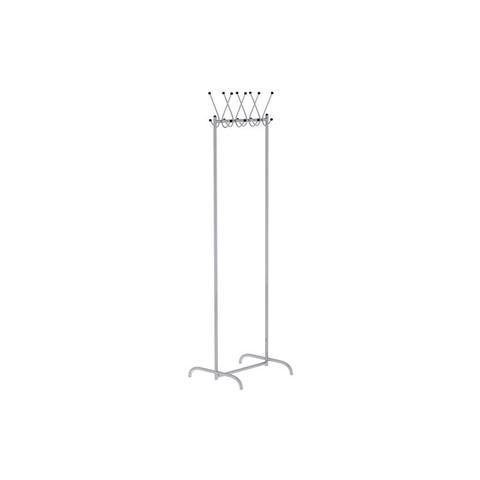 Вешалка гардеробная Attache КР-15 на 8 персон (металлик)