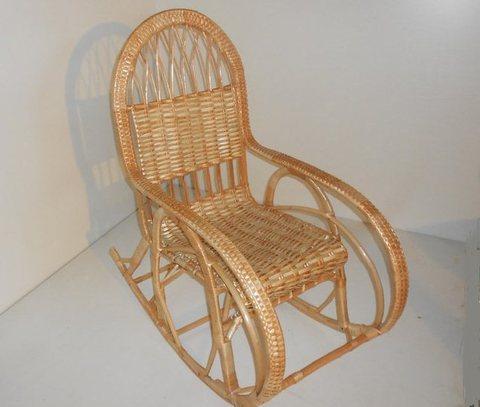 Кресло плетеное 1