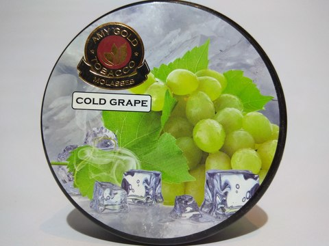 Табак для кальяна AMY GOLD Cold Grape 200 gr