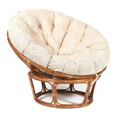 Кресло из ротанга «Папасан» (Papasan 23/01) -Без подушки- (Pecan (орех)