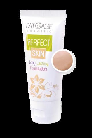 L'atuage Perfect skin Тональный крем тон №104