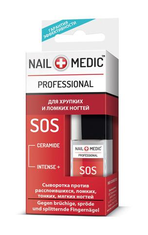 Ines Nail Medic Сыворотка против расслоившихся, ломких, тонких, мягких ногтей «SOS»