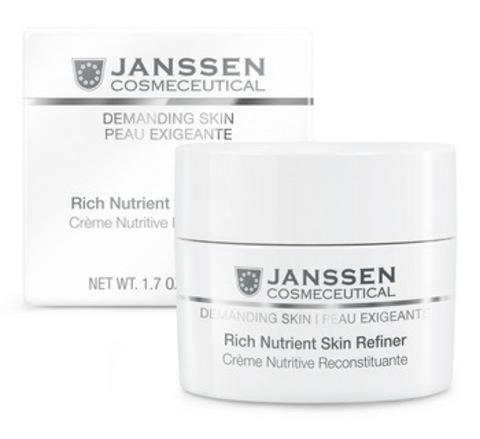 Обогащенный дневной питательный крем (SPF 15)Janssen Rich Nutrient Skin Refiner, 50 мл.