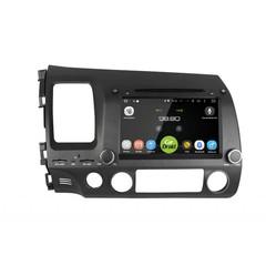 Штатная магнитола на Android 8.0 для Honda Civic 8 4D Roximo CarDroid RD-1901