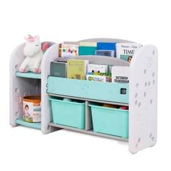 Полка-стеллаж для книг  и игрушек 124х34х72